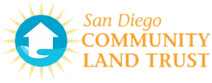 Logo for San Diego Community Land Trust