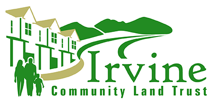 Logo for Irvine Community Land Trust